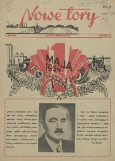 Nowe Tory : pismo pracowników DOKP w Szczecinie. R.1, 1954 Jednodniówka