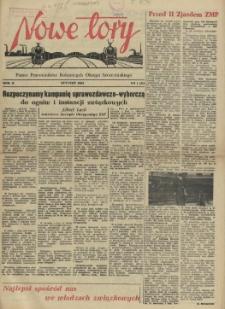 Nowe Tory : pismo pracowników DOKP w Szczecinie. R.2, 1955 nr 1