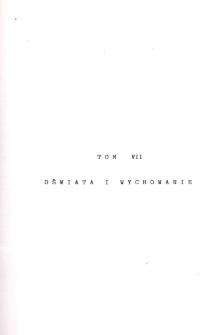Kronika Miasta i Gminy Międzyzdroje. Tom 7. Oświata i wychowanie