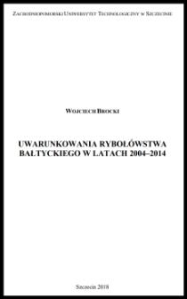 Uwarunkowania rybołówstwa bałtyckiego w latach 2004-2014