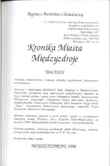 Kronika Miasta Międzyzdroje. Tom 23
