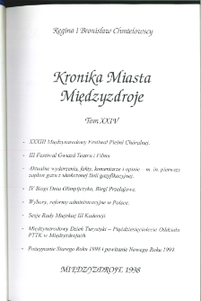 Kronika Miasta Międzyzdroje. Tom 24