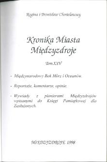 Kronika Miasta Międzyzdroje. Tom 25