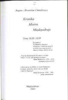 Kronika Miasta Międzyzdroje. Tom 43