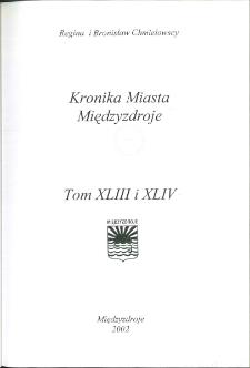 Kronika Miasta Międzyzdroje.Tom 44