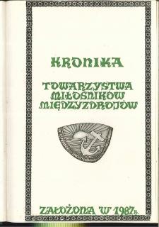 Kronika Towarzystwa Przyjaciół Międzyzdrojów