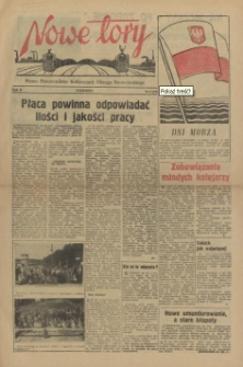 Nowe Tory : pismo pracowników DOKP w Szczecinie. R.2, 1955 nr 6