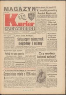 Kurier Szczeciński. 1985 nr 251 + dodatek Harcerski Trop grudzień