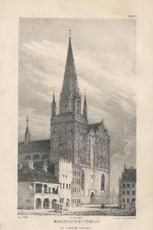 Marienkirche zu Stargard mit restaurirter Thurmspitze