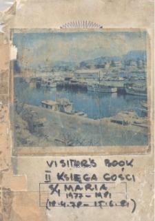 Druga księga gości s/y Maria, 1977-1981