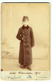 Antoni Ledóchowski w wieku 9 lat