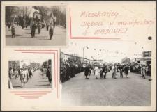 Album z fotografiami Dębna PRL 1954-1955