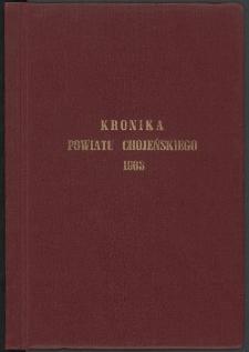 Kronika powiatu chojeńskiego 1963