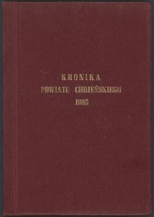 Kronika powiatu chojeńskiego 1965