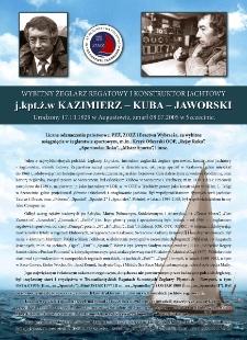 Poczet kapitanów żeglugi wielkiej - j.kpt. ż.w. Kazimierz Jaworski
