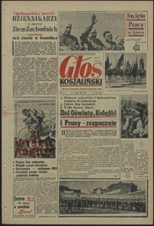 Głos Koszaliński. 1958, maj, nr 104