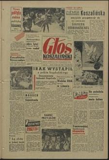Głos Koszaliński. 1958, lipiec, nr 167