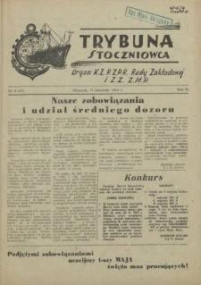 Trybuna Stoczniowca. R.2, 1954 nr 6
