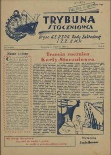 Trybuna Stoczniowca. R.2, 1954 nr 10