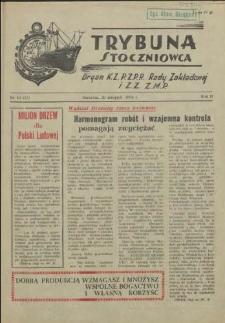 Trybuna Stoczniowca. R.2, 1954 nr 16