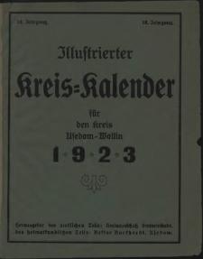 Illustrierter Kreiskalender für den Kreis Usedom-Wollin. 1923
