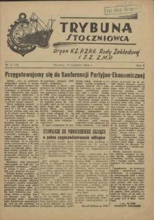 Trybuna Stoczniowca. R.2, 1954 nr 17