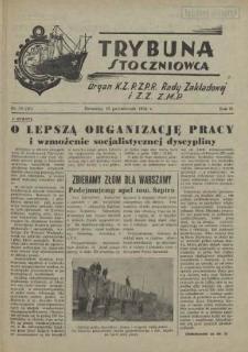 Trybuna Stoczniowca. R.2, 1954 nr 19