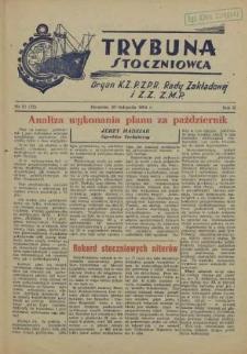 Trybuna Stoczniowca. R.2, 1954 nr 21