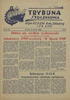 Trybuna Stoczniowca. R.2, 1954 nr 22