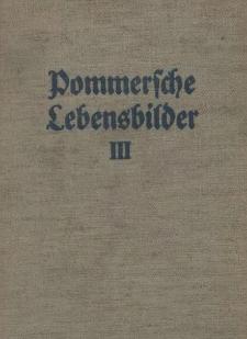 Pommersche Lebensbilder. Bd.3