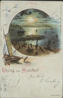 Gruss aus Misdroy, der Seesteg