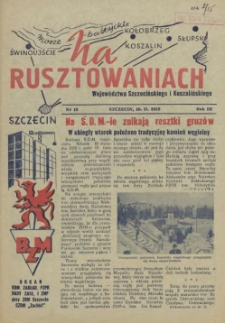 Na Rusztowaniach. R.3, 1955 nr 15