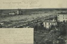 Ostseebad Swinemünde, Strand mit Seebrücke
