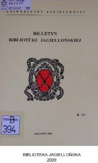 """""""Biuletyn Biblioteki Jagiellońskiej"""" miejscem prezentacji projektów architektonicznych Biblioteki Jagiellońskiej w Krakowie"""