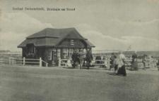 Seebad Swinemünde, Trinkhalle am Strand
