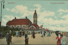 Swinemünde, Promenade am Kurhaus