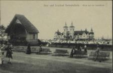 See- und Soolbad Swinemünde, Blick auf die Seebrücke
