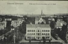 Ostseebad Swinemünde, Blick vom Konversationshaus auf die Stadt