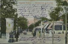 Ostseebad Misdroy, Strandpromenade und Kaiserhalle