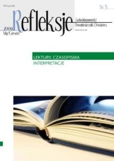 Refleksje : zachodniopomorski miesięcznik oświatowy. 2009 nr 3