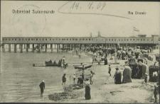 Ostseebad Swinemünde, Am Strande