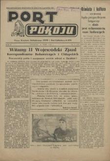 Port Pokoju : pismo Komitetu Zakładowego PZPR i Rad Zakładowych ZPS. R.2, 1952 nr 12