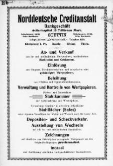 Adress- und Geschäfts-Handbuch für Stettin : nach amtlichen Quellen zusammengestellt. 1905