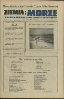 Ziemia i Morze : tygodnik społeczno-kulturalny.R.1, 1956 nr 4