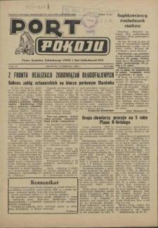 Port Pokoju : pismo Komitetu Zakładowego PZPR i Rad Zakładowych ZPS. R.3, 1953 nr 2