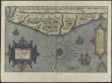 Caerte van de Zee custe vant Landt te Pomeren also tselfde in zijn weeen enn gedaente is, Orae maritimae Ducatus Pomeraniae accuratissima descriptio