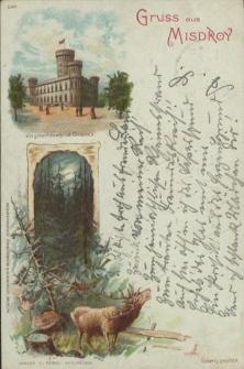 Gruss aus Misdroy, Jagdschloss in der Granitz
