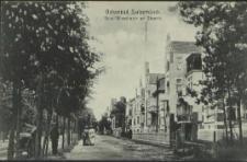 Ostseebad Swinemünde, Neue Villenstrasse am Strande