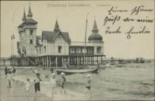 Ostseebad Swinemünde, Seebrücke