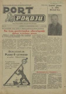 Port Pokoju : pismo Komitetu Zakładowego PZPR i Rad Zakładowych ZPS. R.4, 1954 nr 15